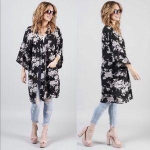 Spiritual Gangster | Maya Kimono Floral One Size